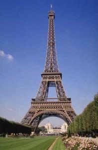 Eiffel Tower and Champ-de-Mars